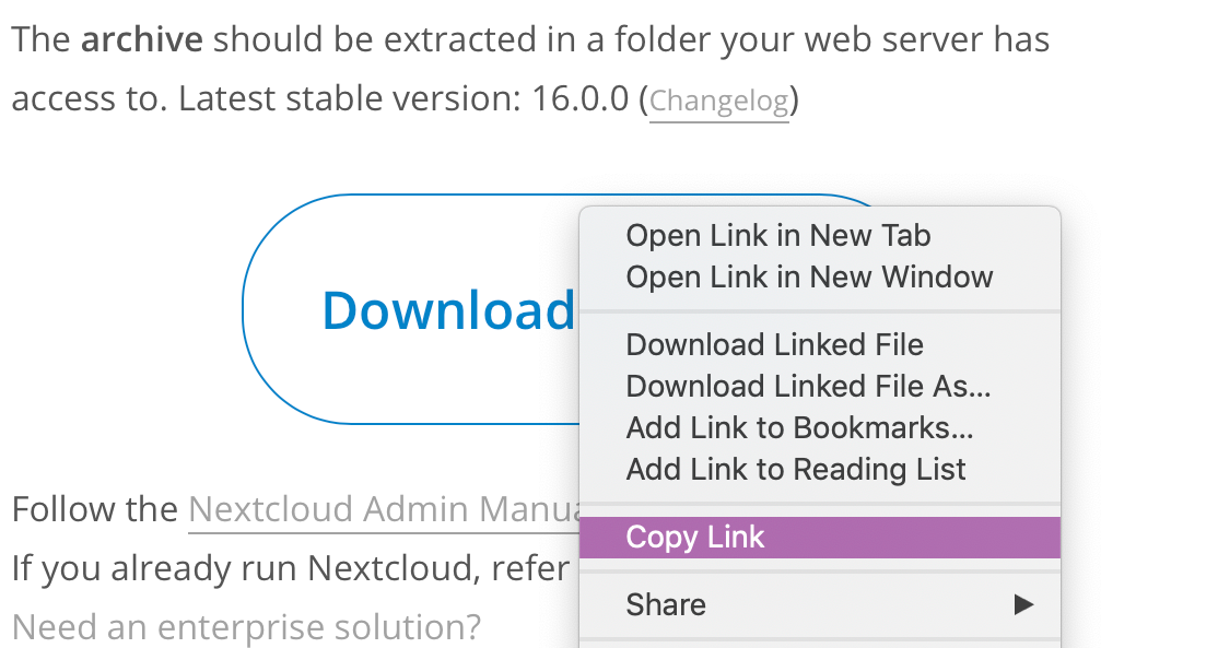 nextcloud-download