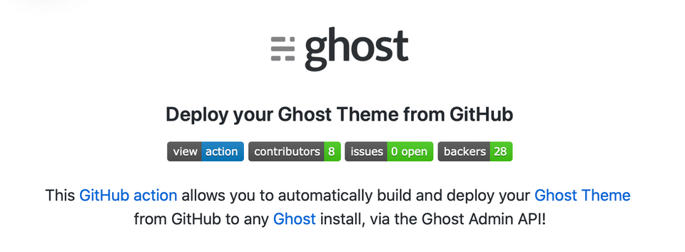 Ghost v3 Makes Frontend CI/CD Stupid Simple